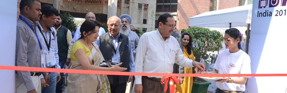 Inauguration of Techshare 2016 by Dr. Vinod Aggarwal, Secretary, Department of Empowerment of Persons with Disabilities, Ministry of Social Justice & Empowerment